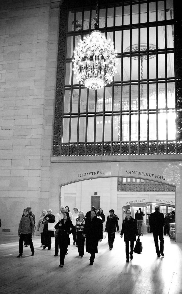 New York City.  Entering Grand Central